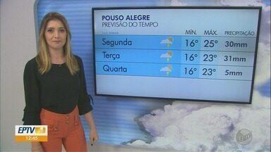 Confira a previsão do tempo para esta semana em Poços de Caldas, Varginha e Pouso Alegre - Confira a previsão do tempo para esta semana em Poços de Caldas, Varginha e Pouso Alegre