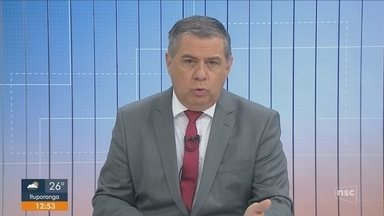Polícia busca por homem suspeito de esfaquear companheira em Tijucas - Polícia busca por homem suspeito de esfaquear companheira em Tijucas