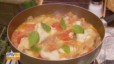 Confira a dica especial para a semana santa no quadro 'Prato Feito' - Fernando Kassab ensina a preparar cação de tomatada.