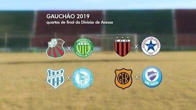 São Paulo vai enfrentar o Ypiranga de Erechim na Divisão de Acesso do Gauchão - Duelo será válido pelas quartas de final da competição. Na última rodada da primeira fase, rubro-verde empatou em 1x1 com o Lajeadense.