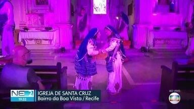 Espetáculo mistura teatro e música para contar a história de Jesus em igreja no Recife - Via Dolorosa é apresentada na Igreja de Santa Cruz, no Centro da cidade.
