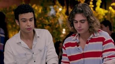 Diego e João lamentam a falta de sorte - Os dois foram prejudicados