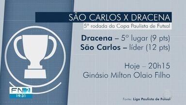 Futsal de Dracena enfrenta o líder da Copa Paulista - João Paulo Tilio traz os destaques do Azulão.