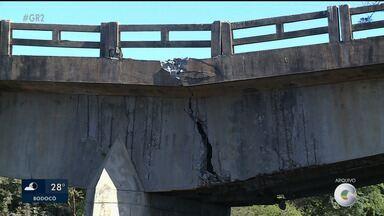 Ponte de acesso a Bodocó completa um ano sem funcionamento - A estrutura ficou comprometida desde a última enchente