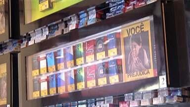 Padarias do Alto Tietê estão parando de vender cigarro - Os motivos seriam a alta dos impostos e a baixa lucratividade.