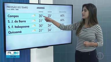 Confira a previsão do tempo para esta terça-feira (16) no interior do Rio - Assista a seguir.