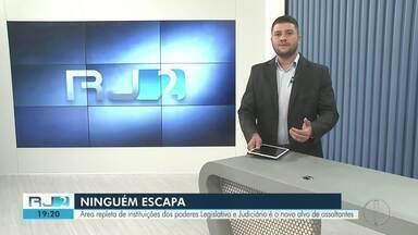 RJ2 Inter TV Planície - Íntegra 15/04/2019 - Telejornal que traz as notícias locais, mostrando o que acontece na sua região, com prestação de serviço e a previsão do tempo.