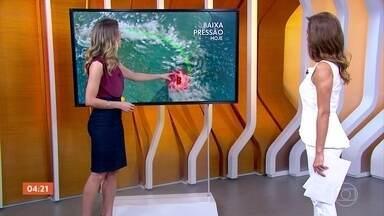 Previsão é de tempo firme no Sul do país nesta quarta-feira (17) - Pode chover forte no Rio de Janeiro. Confira como vai ficar o tempo em todo o país.