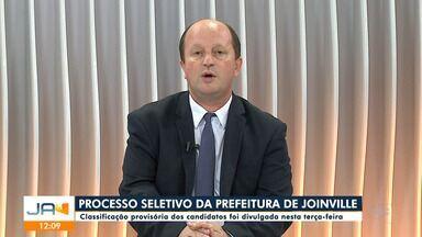 Classificação provisória do processo seletivo da prefeitura de Joinville é divulgada - Classificação provisória do processo seletivo da prefeitura de Joinville é divulgada
