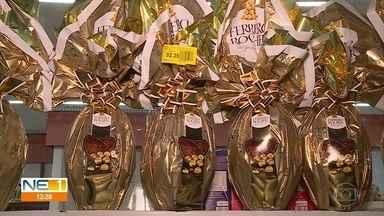 Consumidor deve pesquisar antes de comprar ovo de Páscoa - No Recife, há produtos de vários tamanhos e preços