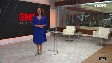 Jornal GloboNews Edição das 18h - Quinta-feira, 18/04/2019