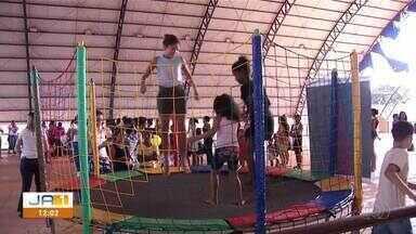 Ação de páscoa leva serviços gratuitos e brincadeiras o Setor Taquari - Ação de páscoa leva serviços gratuitos e brincadeiras o Setor Taquari