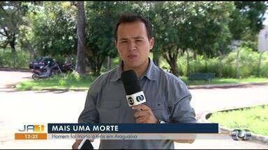 Homem morre após ser baleado com espingarda no pescoço em Araguaína - Homem morre após ser baleado com espingarda no pescoço em Araguaína