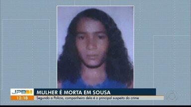 Em Sousa, mulher é morta pelo ex-companheiro, que está foragido - Arthur Garrido, de 33 anos, é acusado de atirar na cabeça da ex-companheira