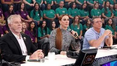 Jurados comentam as últimas apresentações do ''Show dos Famosos'' - Claudia Raia, Miguel Falabella e Boninho falam quais foram as impressões sobre as performances