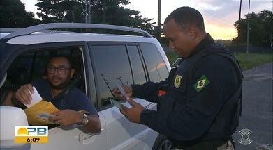 Volta pra casa foi tranquila depois do feriadão da Semana Santa na Paraíba - Nenhum acidente com morte foi registrado.
