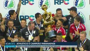 Athlético vence o Toledo e é o campeão do Campeonato Paranaense 2019 - Título estadual foi conquistado na decisão por pênaltis