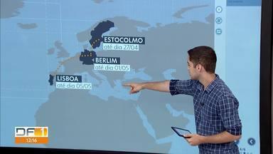 Governador Ibaneis e vice fazem viagem pela Europa - Um dos compromissos do governador é participar de encontro para promover economia do Piauí, terra da família dele.