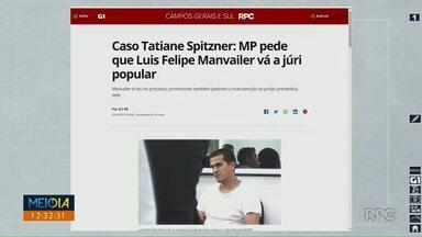 Ministério Público pede que Luis Felipe Manvailer vá a Júri Popular - Ele é acusado de ter matado a própria esposa, a advogada Tatiane Spitzner, em Guarapuava, na região central do Paraná, em julho do ano passado.