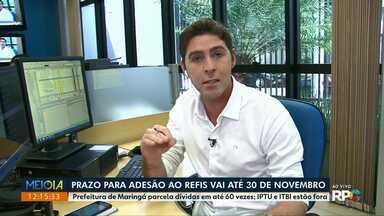 Prefeitura de Maringá sanciona Refis - Projeto prevê o refinanciamento de dívidas públicas