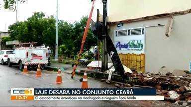 Laje desaba no Conjunto Ceará - Confira outras notícias no g1.com.br/ce