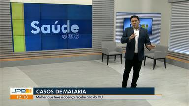 Paciente do terceiro caso de malária na Paraíba recebe alta - Ela estava em tratamento desde o dia 11 de abril, quando deu entrada no Hospital Universitário de João Pessoa.