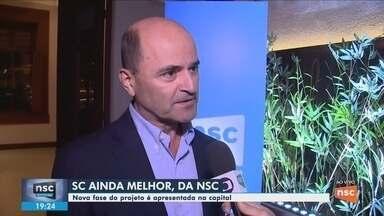 Nova fase do projeto 'SC Ainda Melhor' é apresentada em Florianópolis - Nova fase do projeto 'SC Ainda Melhor' é apresentada em Florianópolis