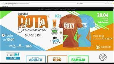 TV Asa Branca realiza 2ª edição da Corrida Rota Caruaru - Ação será no dia 28 de abril.