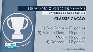 João Paulo Tilio traz os detalhes do futsal de Dracena - Equipe da região enfrenta o Pulo do Gato pela Copa Paulista.