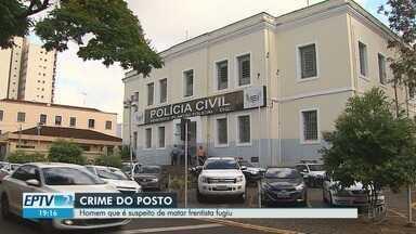 Justiça decreta prisão de suspeito de matar frentista para roubar malote em Ribeirão Preto - Trabalhador de 60 anos foi morto a tiros na tarde de sábado (20), em um posto de combustíveis. Homem de 35 anos e mais quatro pessoas são apontadas no crime.