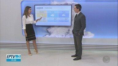 Veja a previsão do tempo para esta quarta-feira (24) na região de Ribeirão Preto - Há possibilidade de chuva nas cidades.
