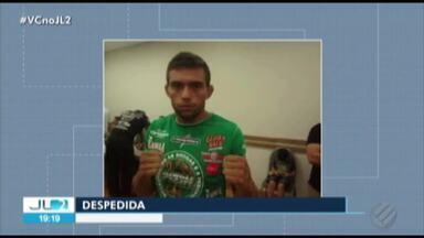Parentes e amigos se despedem do lutador morto atropelado em Belém - Um motorista de carro de aplicativo foi o autor do crime.