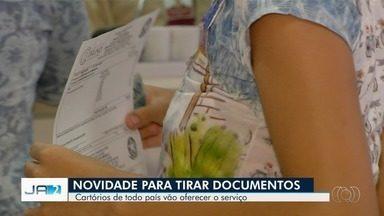 Cartórios vão poder fazer a emissão de documentos pessoais e até passaporte - O serviço vai ser ampliado em todo país.