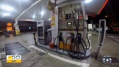 Preço do etanol dispara em postos de Goiânia - Produto é encontrado a até R$ 3,29.