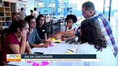 Dia da Criatividade: Porto velho é palco do evento realizado pela primeira vez em Rondônia - Dia da Criatividade: Porto velho é palco do evento realizado pela primeira vez em Rondônia.