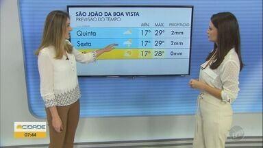 Confira a previsão do tempo para as regiões de Ribeirão Preto e Central do estado - Confira se vai chover ou fazer calor nesta quarta-feira.