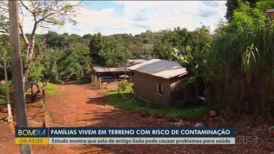 Estudo mostra que solo de antigo lixão pode causar problemas para saúde - O terreno é em Foz do Iguaçu.