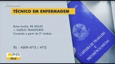 Confira as vagas de estágio do Bom Dia Pará desta quarta-feira, 24 - Vagas de estágio.