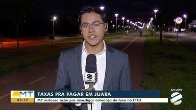 Ministério Público vai apurar cobrança de taxas no IPTU de Juara - Ministério Público vai apurar cobrança de taxas no IPTU de Juara