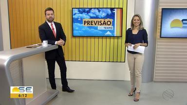 Michele Costa fala sobre a previsão do tempo para esta quarta-feira em Sergipe - Michele Costa fala sobre a previsão do tempo para esta quarta-feira em Sergipe.