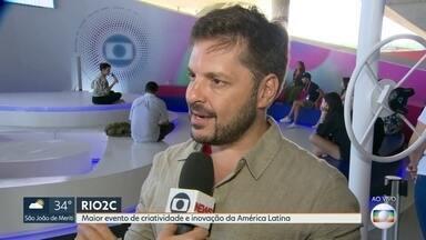 Rio recebe maior evento de criatividade e inovação da América Latina - A segunda edição do evento Rio2C vai até domingo.