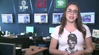 Carol Andrade traz os destaques do G1 Sorocaba e Jundiaí nesta quarta-feira - A repórter Carol Andrade traz os destaques do G1 Sorocaba e Jundiaí nesta quarta-feira (24).