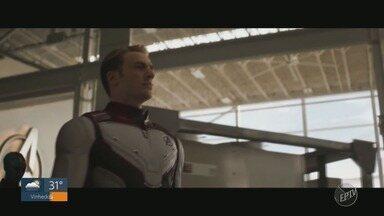 'Em Cena': estreia de Vingadores: Ultimato movimenta salas de cinema na região de Campinas - Milhares de pessoas foram acompanhar a estreia do épico da Marvel.