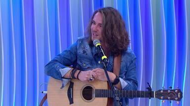 Vitor Kley fala sobre a carreira e se apresenta no Jornal do Almoço - Assista ao vídeo.