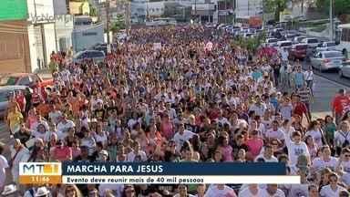 Neste sábado tem Macha pra Jesus, em Cuiabá - Neste sábado tem Macha pra Jesus, em Cuiabá.