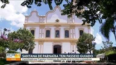 Santana de Parnaíba oferece passeio guiado por pontos turísticos - Caminhada pela cidade passa por 9 locais e é legal para crianças e adultos, moradores e visitantes.