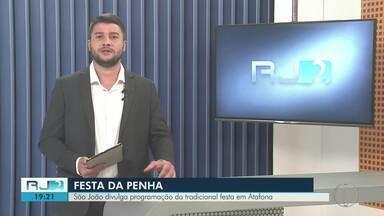 São João da Barra divulga programação da tradicional Festa da Penha, em Atafona - Assista a seguir.