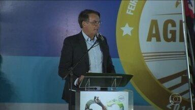 Bolsonaro quer isentar de punição proprietário rural que atirar em invasor - Numa feira de tecnologia agrícola, presidente disse ainda que acertou com o ministro do Meio Ambiente fazer 'uma limpa no Ibama e no ICMBio.