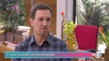 Luciano Burti relembra vitória emocionante de Senna no Brasil - Ayrton Senna fez história em corrida que chegou ao final apenas com a sexta marcha. Exausto, piloto praticamente não conseguiu segurar o troféu no pódio