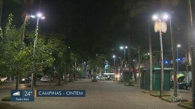 Praça no Centro de Campinas tem iluminação restabelecida após reclamação de moradores - Medidas foram tomadas após cobrança do EPTV1.